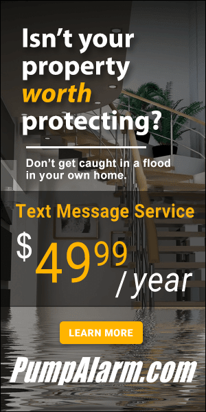 High Water Alarms Help Prevent Damage Due to Sump Pump